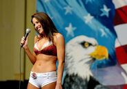 Redskins cheerleaders Iraq