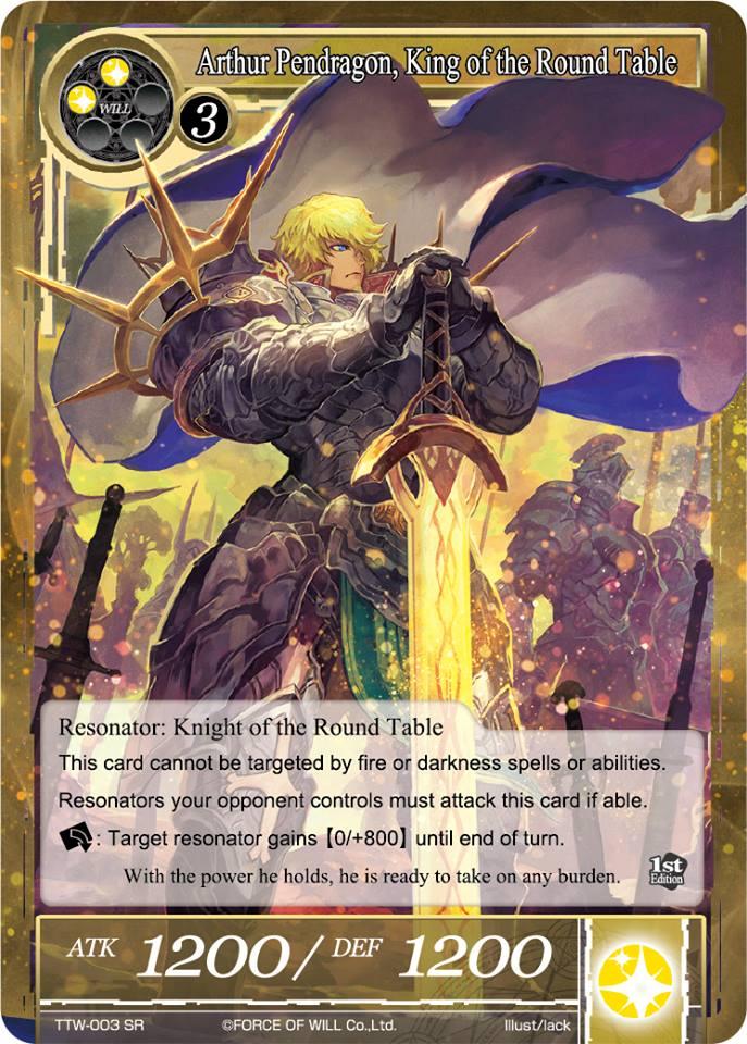Resultado de imagen de Arthur Pendragon force of will