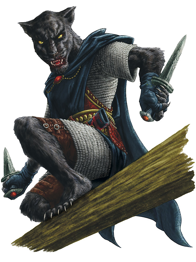 rakshasa naztharune Un rakshasa naztharune - by Pete Venters Mike Mearls, Steven Schubert, James Wyatt, //**Dungeons & Dragons 4 – Manuale dei Mostri**//, Wizards of the Coast & Hasbro, 4 Edition Core Rules **2008**