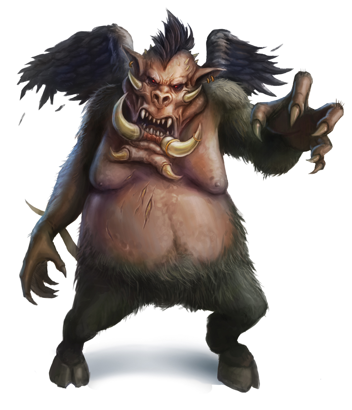 Demon female monsters adult galleries