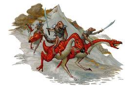 Firenewts on striders