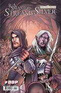 Streams of Silver issue 3 comic cover