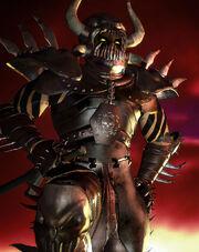 Sarevok in armor