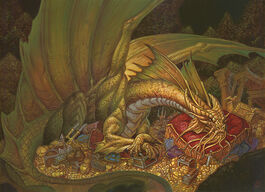 Gold dragon - Chris Seaman