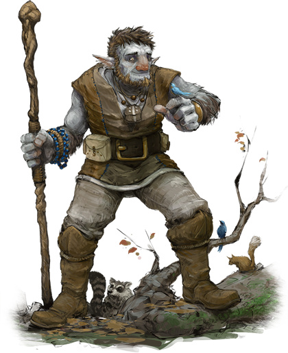 Image result for dungeons and dragons firbolg