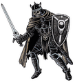 Monstrous Manual 2e - Death Knight - p52.png