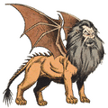 Monstrous Manual 2e - Manticore - p246.png