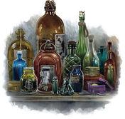 Poison vials