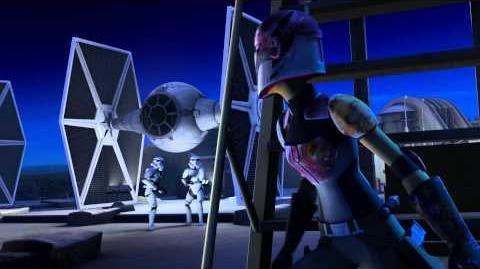 Star Wars Rebels - Court métrage Attaque Artistique