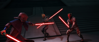Sidious vs Maul & Savage.png