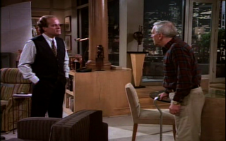 Wikia Frasier - Fraiser prods Martin over his 'gf'
