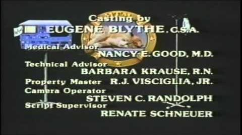 St. Elsewhere Final Episode credits WITHOUT ANNOUNCER