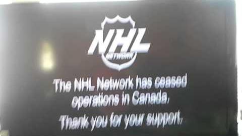 NHL Network (Canada) Shut Down Bumper
