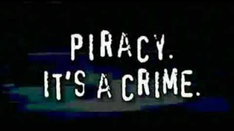 Anti Piracy Commercial Trailer