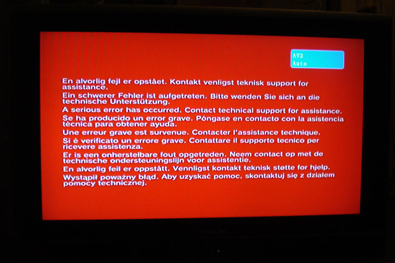 BSOD and (Updated in Republican Red) RSOD: Any Key or CTRL ALT DEL ...