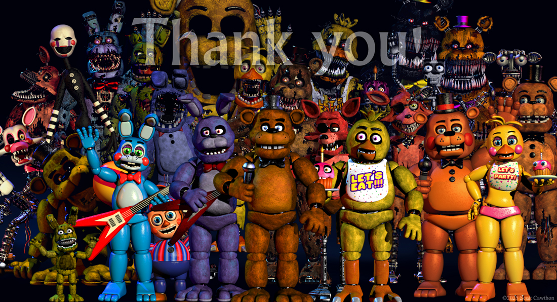User blog turio inspection of quot thank you quot and why fnaf 5 isnt gonna be