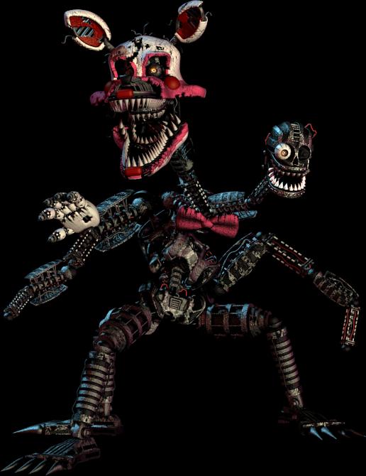 fnaf 4 mangle nightmare - photo #14
