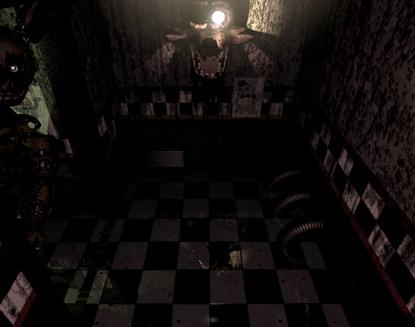 Image Springtrapcam04a Png Five Nights At Freddy S