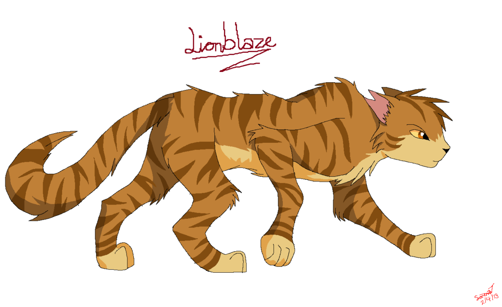 Lionblaze Human