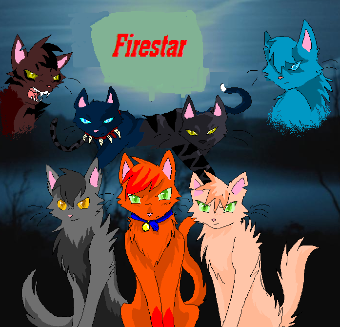 Warriors Imagine Dragons Captain America: Firestar From Warrior Cats By Wolfdarkkitty
