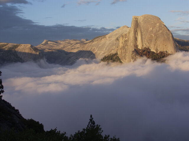 File:Half Dome at Sunset.jpg