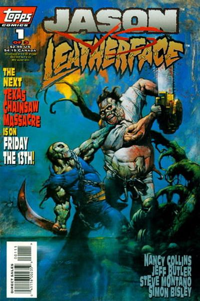 Image result for jason meets leatherface