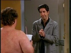 Ross and Ugly Naked Guy