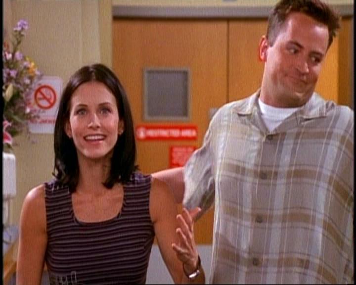 Friends Monica And Chandler Start Hookup