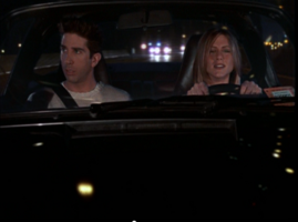 Ross & Rachel in the Car (7x22)
