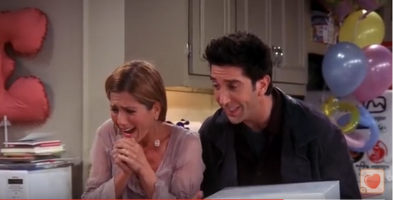 Ross & Rachel Are So Happy!