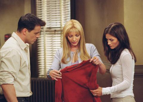 The One With The Red Sweater | Friends Central | FANDOM powered by ...