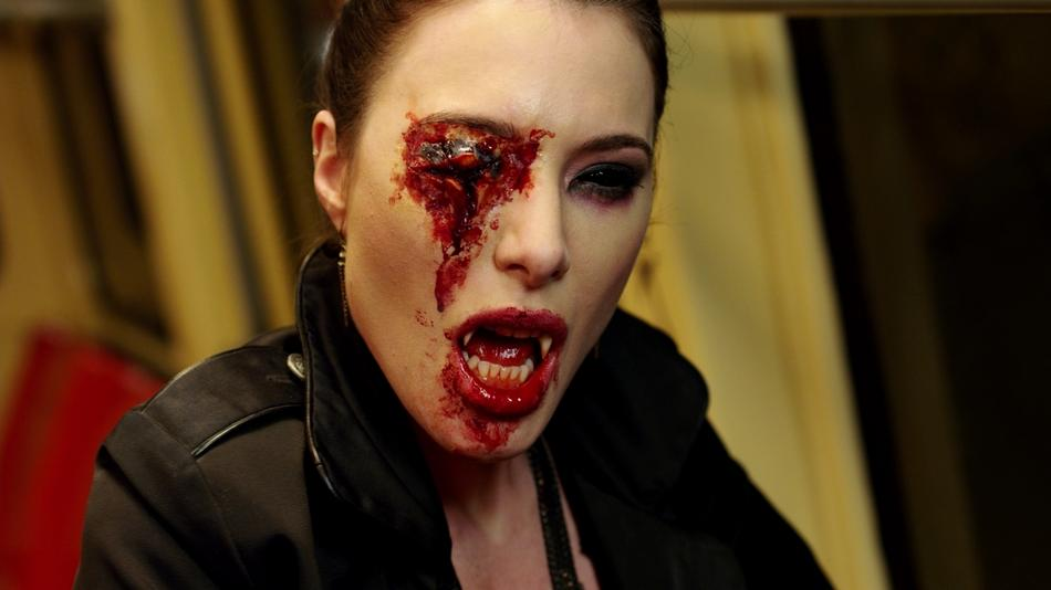 Fright night, Jaime murray and Blood on Pinterest