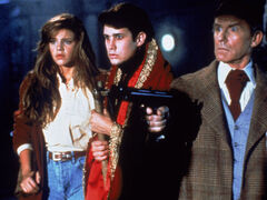 Fright Night Part 2 Traci Lind William Ragsdale Roddy McDowall