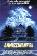 Fright Night 1985 Italian Poster