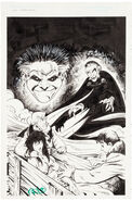 Fright Night Comics 15 Cover Art by Neil Vokes and Tammy Daniel