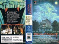 VHS Fright Night Croation