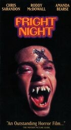 Fright Night vhs re-release