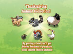 Thanksgiving Animals Loading Screen