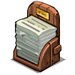 Newspaper Stack-icon