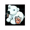 White Polar Bear-icon