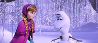 Anna meets Olaf