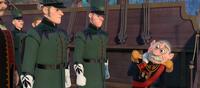 Guards escorting Duke