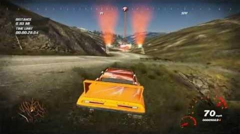 FUEL - Blacktrail Pass - Challenge - Speedrun