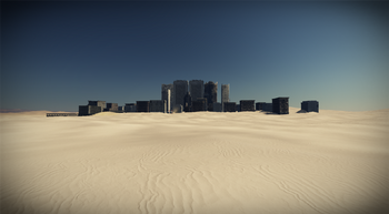 Dustbowl city