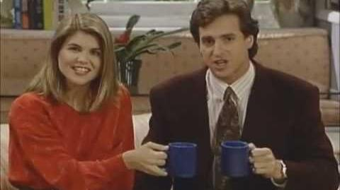 Full House Clip - Angry Wake Up San Francisco commercial (smashing cups)