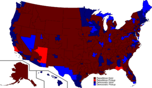2016 US House Election Results