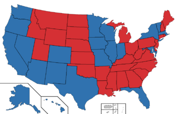 2032 Presidential election map