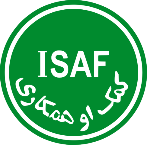 File:Logo of ISAF.png