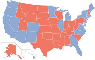 2020 electoral map