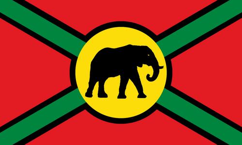 UnitedStatesofAfrica flag
